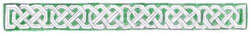 A Josephine knot border.